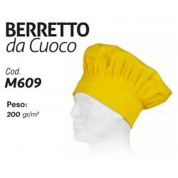 BERRETTO DA CUOCO CON CHIUSURA REGOLARE